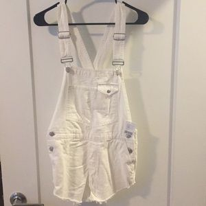 white urban outfitters overalls- tags attached